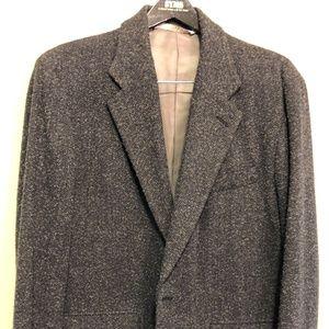 Perry Ellis Casual Gray Fleck Sportcoat